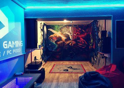 VR Lounge Art Of Gaming
